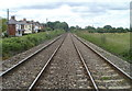 SO3205 : Railway lines heading NNE, Perperlleni by Jaggery