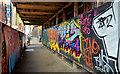 J3374 : Graffiti, North Street, Belfast (2) by Albert Bridge