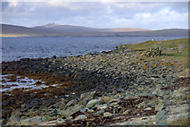 HP6301 : Beach at the Pool, Ham Ness by Mike Pennington