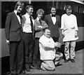 W8774 : CIE dining car staff by The Carlisle Kid