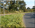 SO7502 : Sharp bend in the road from Cam to Coaley by Jaggery