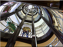 NS5965 : Staircase in The Athenaeum by Thomas Nugent