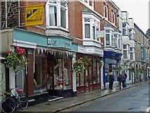 SX3384 : Westgate Street, Launceston by Robin Drayton