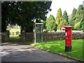 SD4498 : Post box and Telephone kiosk by David Clark