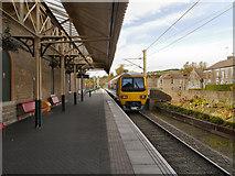 SK0394 : Glossop Station by David Dixon
