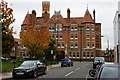TQ2576 : Fulham Fire Station, London by Peter Trimming