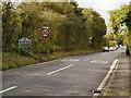 SK0594 : The Road Into Glossop by David Dixon