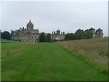 SE7170 : View of Castle Howard from South Lake by David Hillas