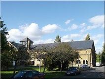 TQ7668 : Brompton barracks gymnasium, Brompton by David Anstiss