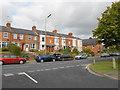 SP4440 : Terraced houses on the Warwick Rd by Nigel Mykura