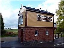 SK1461 : Hartington signal box by Graham Hogg