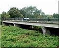 ST6569 : Road bridge across the Kennet & Avon Canal, Keynsham by Jaggery