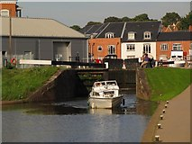 SO8453 : Lock 2, from the west by Christine Johnstone