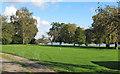 TQ7995 : Riverside garden by Roger Jones