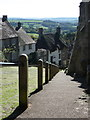 ST8622 : Shaftesbury: Gold Hill handrail by Chris Downer