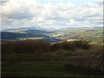 ST1292 : View north from fallen trig point by Mike Kohnstamm