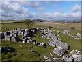 SK0768 : Limestone rock outcrop on Upper Edge by Graham Hogg