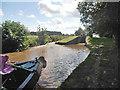 SJ5344 : Moored at Povey's Lock by Row17