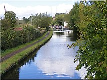 SO8689 : Hinksford Bridge View by Gordon Griffiths