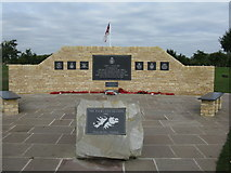 SK1814 : Memorial to the Falkland Islands Conflict by M J Richardson