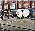 SJ9494 : I Love Hyde balloons by Gerald England