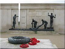 SK1814 : The Armed Forces Memorial by M J Richardson