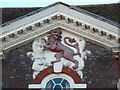 ST8806 : Blandford Forum: red lion on the old Red Lion by Chris Downer
