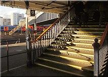 TQ2775 : Stairs at Clapham Junction by Derek Harper