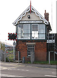 TF3243 : Boston - West Street Junction Signal Box by Dave Bevis