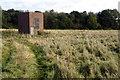 SP9330 : Brick box in a field by Philip Jeffrey