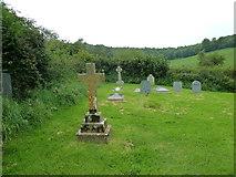 ST5906 : St Mary, Melbury Bubb: churchyard (E) by Basher Eyre