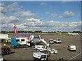 SK4525 : Jet2.com at East Midlands Airport by M J Richardson