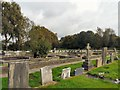 SJ9286 : Norbury Parish Churchyard by Gerald England