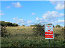 SU0046 : 2012 : Military Firing Range Keep Out by Maurice Pullin