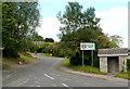 ST4894 : Southern boundary of Mynydd-bach  by Jaggery