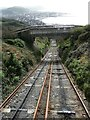 SN5882 : Rheilffordd Y Graig (ACR) - view down the tracks by Rob Farrow