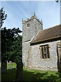 ST6902 : Alton St Pancras Churchyard (d) by Basher Eyre