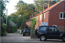 TG1607 : A row of houses, Little Melton by N Chadwick