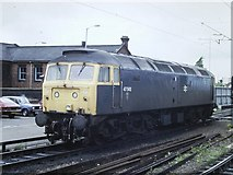 SO9199 : Class 47 at Wolverhampton, 1987 by Rob Newman
