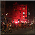 TQ8109 : Hastings Bonfire Parade, Queen's Road by Oast House Archive