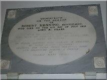 ST6902 : Alton St Pancras: memorial (2) by Basher Eyre