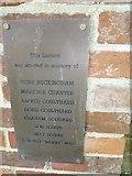 ST6902 : Alton St Pancras: memorial (4) by Basher Eyre