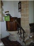 ST6902 : Alton St Pancras: pulpit by Basher Eyre