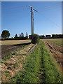 TL5462 : Footpath to Long Meadow by Hugh Venables