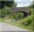 SO3205 : Penwern Lane bridge, Penperlleni by Jaggery