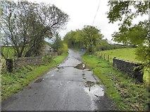 H4769 : Small bridge along Crevenagh Road by Kenneth  Allen