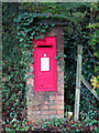 SP9127 : Georgian postbox by the crossroads by Philip Jeffrey