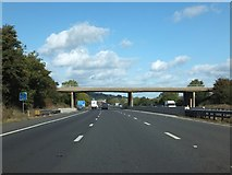 SO8716 : Road bridge in the Hucclecote area of Gloucester by David Smith
