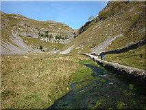 SD9163 : Heading into Gordale Scar by Karl and Ali