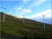 NY4008 : Wind Turbines, Kirkstone Pass by Michael Graham